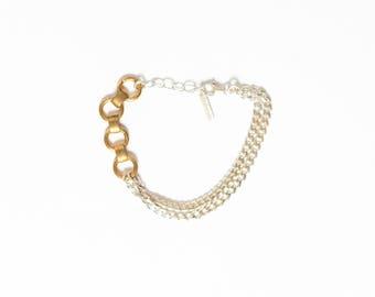 Allie Mixed Metal Bracelet