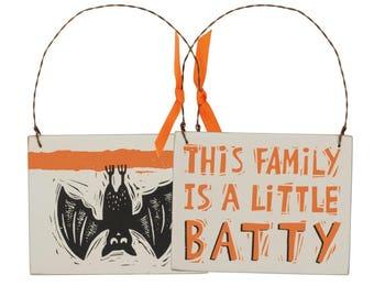A Little Batty Ornament