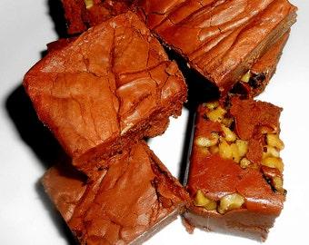 Chocolate Fudge, Chopped Walnuts, Fruit and Nut Options, Creamy Chocolate