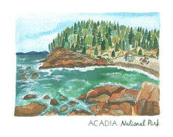 Acadia National Park Print