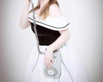 Marine dress rockabilly style