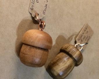 Handmade Acorn Keyring