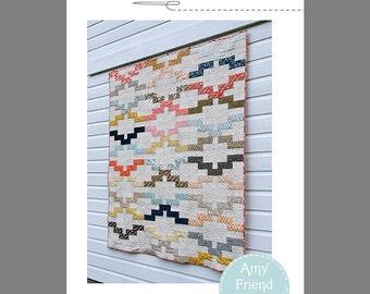 Interlock Quilt Pattern --PDF