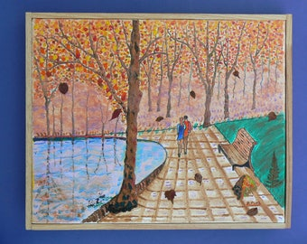 Ballad of a couple at the Lake: season fall
