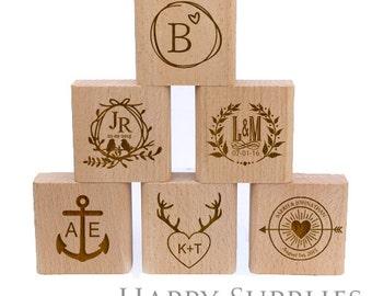 Choose Your Rubber Stamp / Custom Personalized Stamp / Return Address Stamp / Wedding Stamp