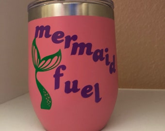Mermaid fuel tumbler