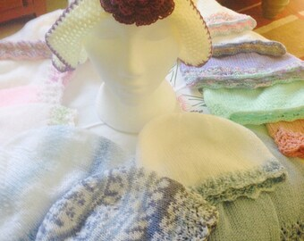 Beanie and sun hats for babies, girls, boys and adults. Also suitable as chemo caps.