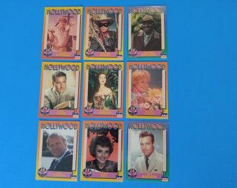 Vintage Starline Hollywood Cards