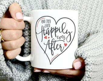 And They Lived Happily Ever After - Wedding Gift