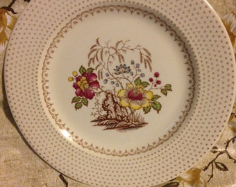 Royal dinner plate by chippendale china