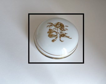 TIFFANY & CO Limoges France porcelain candy box/box - vintage