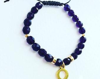 PRE-ORDER : Custom Omega Psi Phi Bracelet.