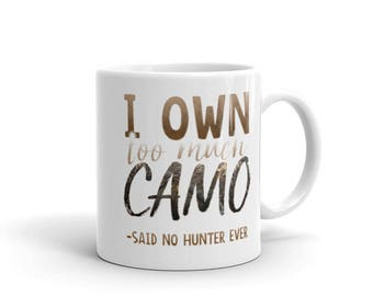 Hunter Camo Lovers Mug