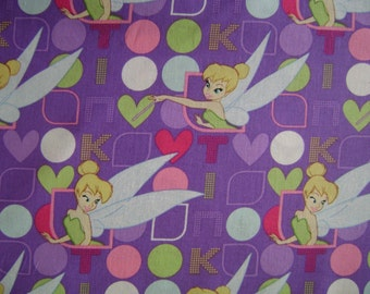 Tink in Lights & Dots Cotton Fabric Sold by the Yard