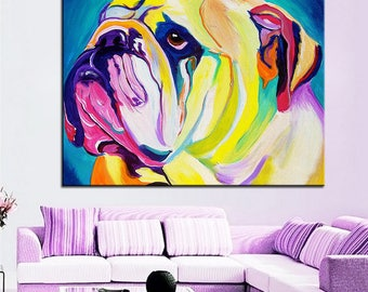 Wonderful Bulldog decor | Etsy ZZ62