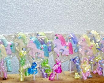 10 Little Pony Lollipops