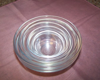 Stacking Set of 5 Arcorac Prep/Pinch Bowls