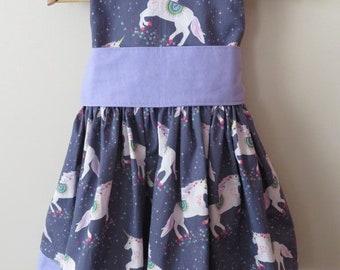 The Tea Party Dress (Unicorn)