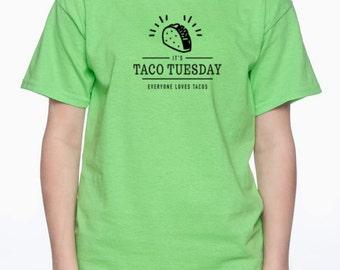 taco tuesday shirt for women funny shirt