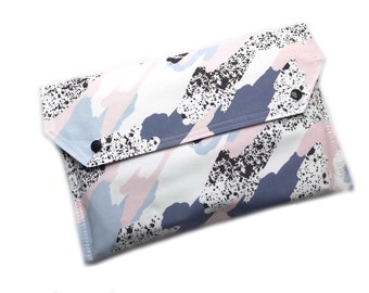 Nappy Wallet, Nappy Clutch, Diaper Wallet, Diaper Clutch, Newborn Gift, Baby Shower Gift