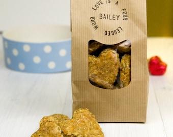 Love Is - Personalised Handmade Gourmet Dog Treats