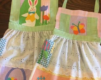 Easter Children's Aprons