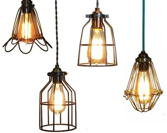 Metal Cages for pendant lamps