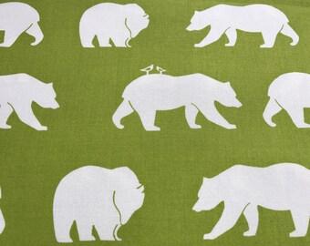 Changing Pad Cover, Woodland, Bear, Green, Animal, Diaper, Baby Shower, Gift, Newborn, Boy, Organic Cotton