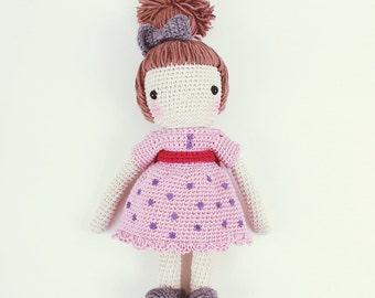 Crochet doll - Pink my day!