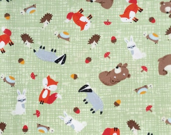 ANIMAL FABRIC By The Yard, Animal Printed, Kids Fabric, Animal Fabric, Cute Fabric,100% Cotton Fabric by yard, fat quarter