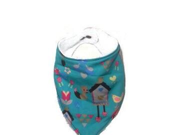 Bavoir bandana anti-bavouille pour enfants
