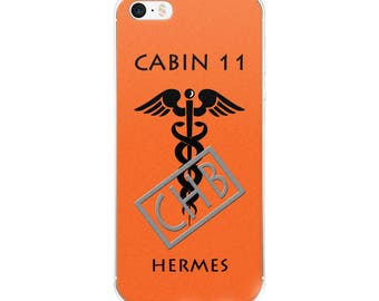 Camp Half-Blood Inspired Percy Jackson Cabin 11 Hermes iPhone Case