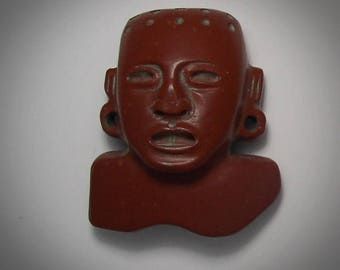 Carved Pipestone bust