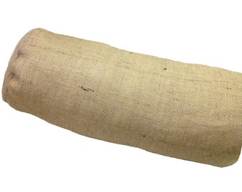 "7"" x 17"" Burlap Neck Roll (x2)"