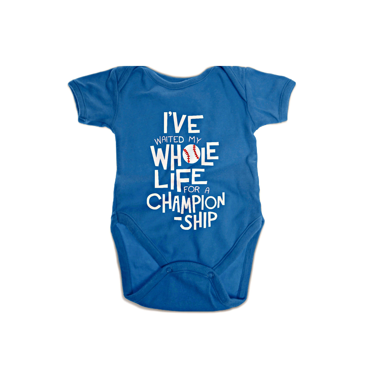 Chicago Cubs Baby esie Infant Shoulder Creeper