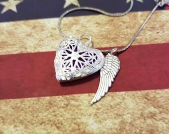 Silver wings of love