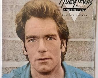 Huey Lewis and the News - Picture This LP Vinyl Record Album, Chrysalis - FV 41340, 1982, Pop Rock, Blues Rock, Original Pressing