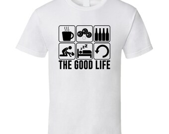 The Good Life Lawn Bowling Sports Hobbies Fan T Shirt