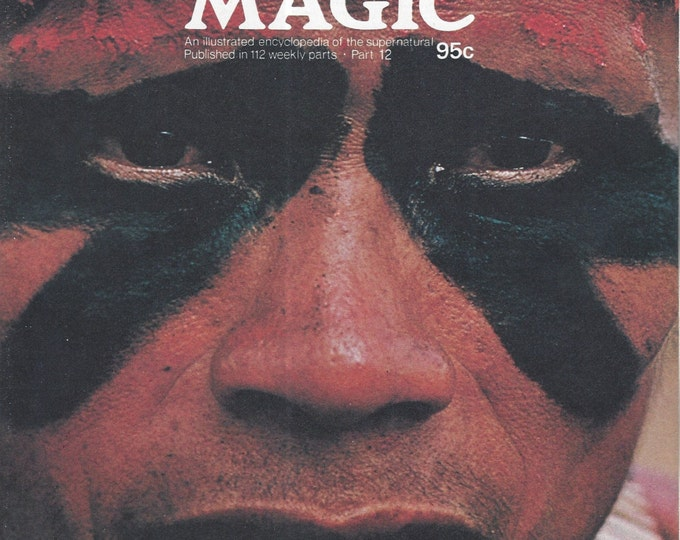 Man, Myth and Magic Part 12 Magazine by Richard Cavendish 1970