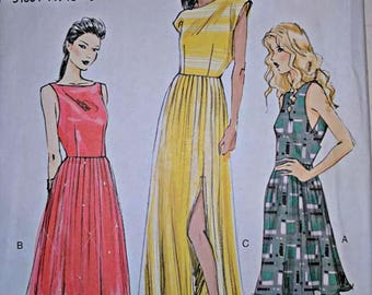 V8901, Sewing Pattern, Dress Pattern, Vogue, Sizes 14-22