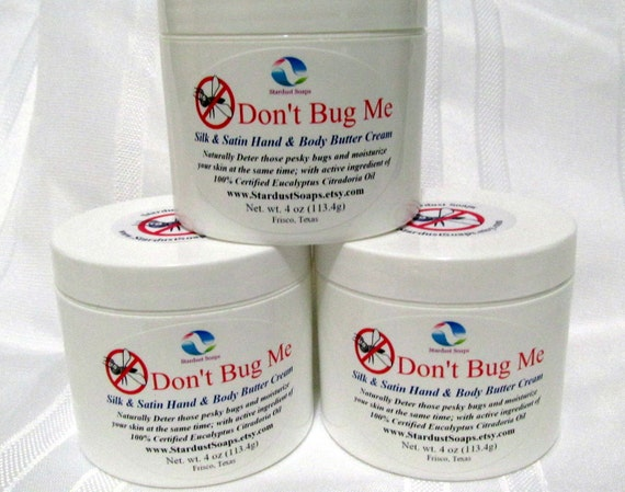 Don't Bug Me Cream  (rich, creamy, thick, moisturizing, aromatic) Stardust soaps