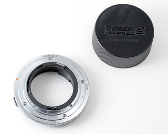 Contax / Yashica Mount Tamron Adaptall 2  Coverter with End Cap C/Y Mount Lens Adapter