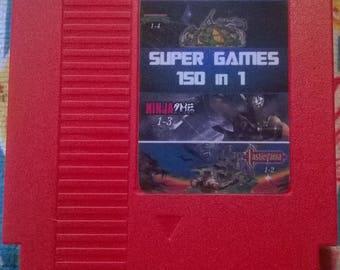 150 in 1 Game Cartridge for Nintendo NES