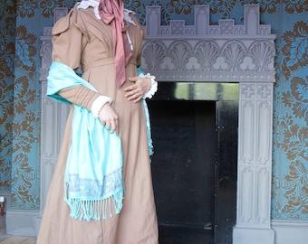 Woolen Regency (1824) Morning Gown