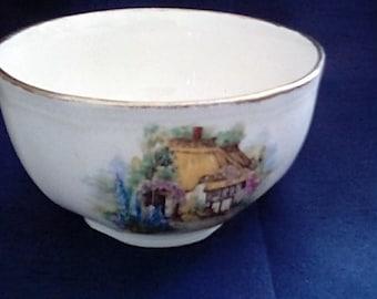 Alfred Meakin Somerset Cottage Sugar Bowl