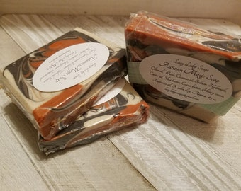 Autumn Magic Homemade Shea Butter Soap
