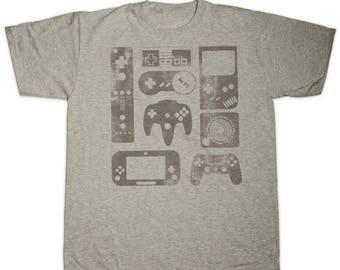 OLD SCHOOL GAMER Childrens T Shirt