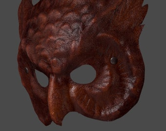 Leather Mask | Leather Owl