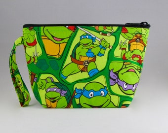 Teenage Mutant Ninja Turtles Makeup Bag - Accessory - Cosmetic Bag - Pouch - Toiletry Bag - Gift