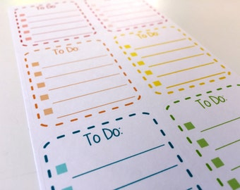 To Do Boxes - Dotted Lines- Stickers for your Life Planner
